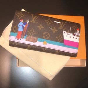 🔴↗️ Christmas animation Louis Vuitton Wallet